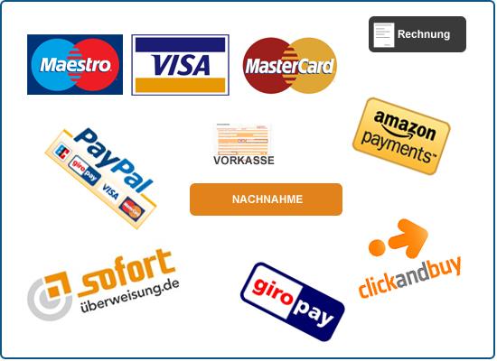 Zahlungsarten Internet